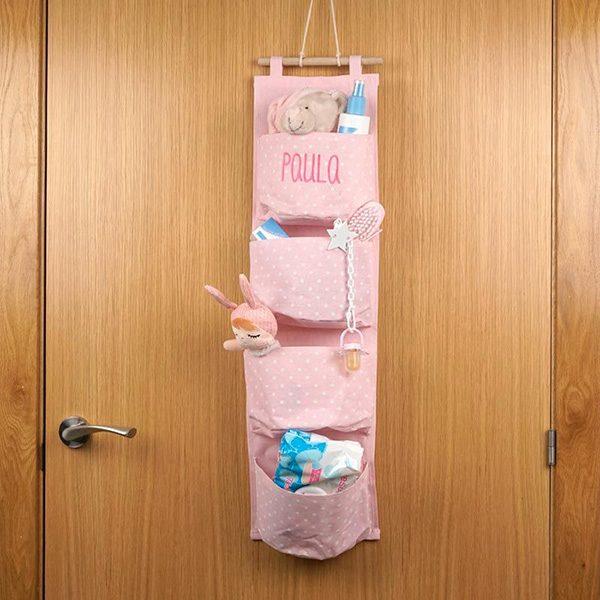organizador-4-bolsillos-personalizado-rosa