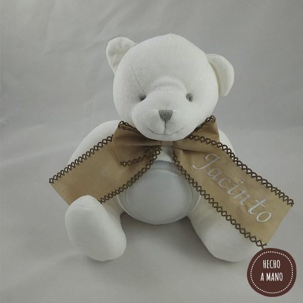 osito-lampara-blanco-lazo-camel-personalizado