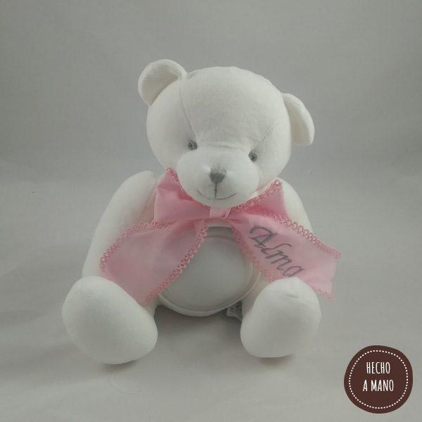 osito-lampara-blanco-lazo-rosa-personalizado