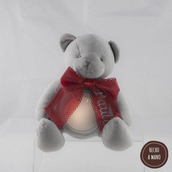 osito-lampara-gris-lazo-rojo-personalizado