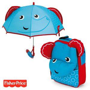 pack-ahorro-mochila-paraguas-3d-fisher-price-elefante