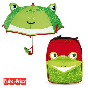 pack-ahorro-mochila-paraguas-3d-fisher-price-rana
