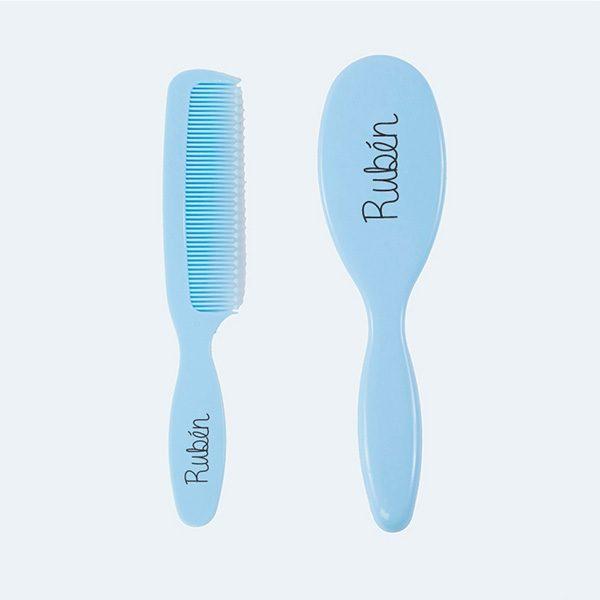 set-cepillo-y-peine-azul-0m-personalizados-3