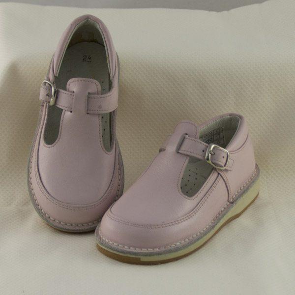 zapato-hebilla-unisex-rosa