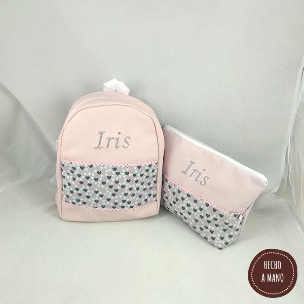 pack-ahorro-mochila-neceser-rosa-corazones